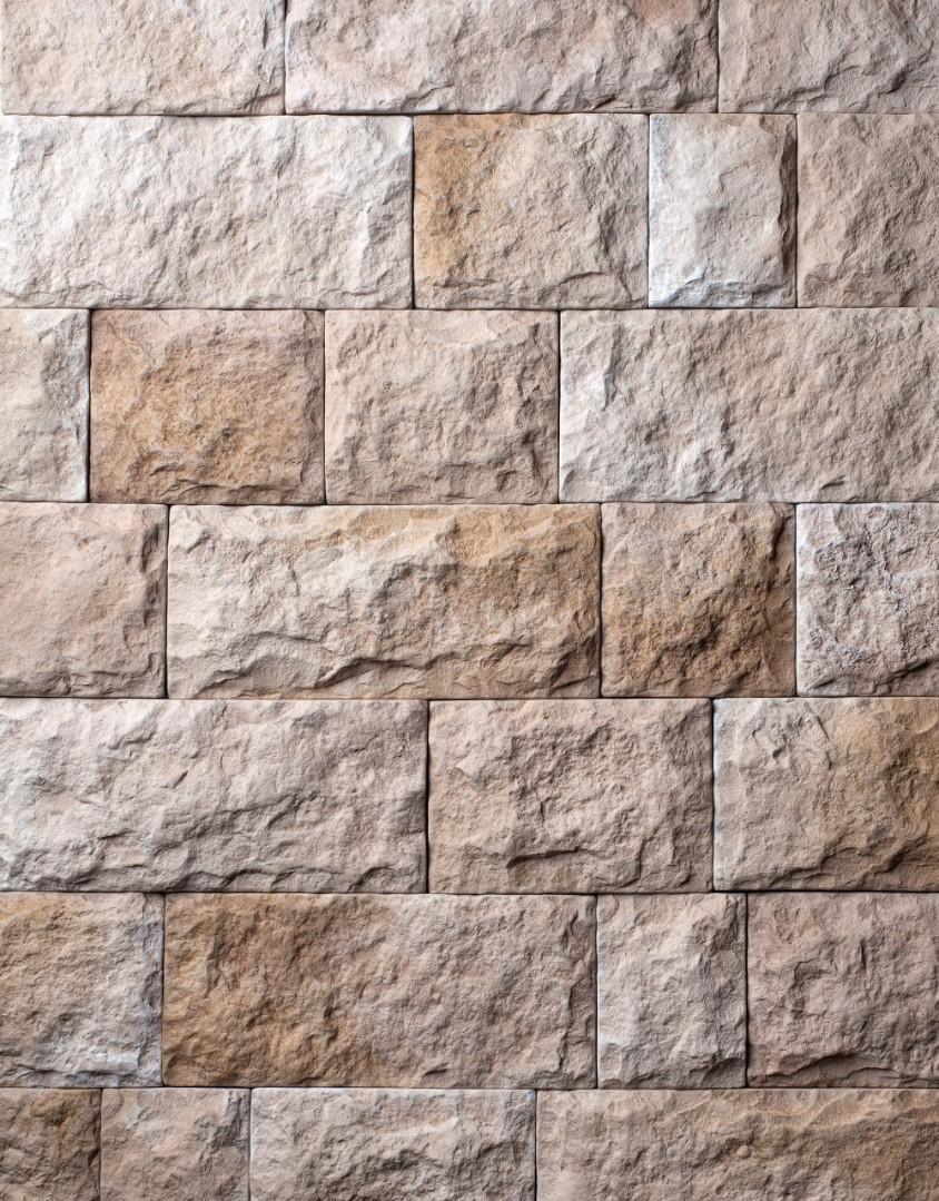 для стен камень