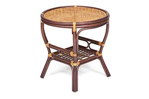столик кофейный ротанг