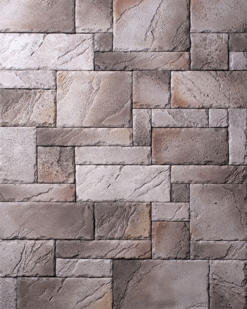 серый камень