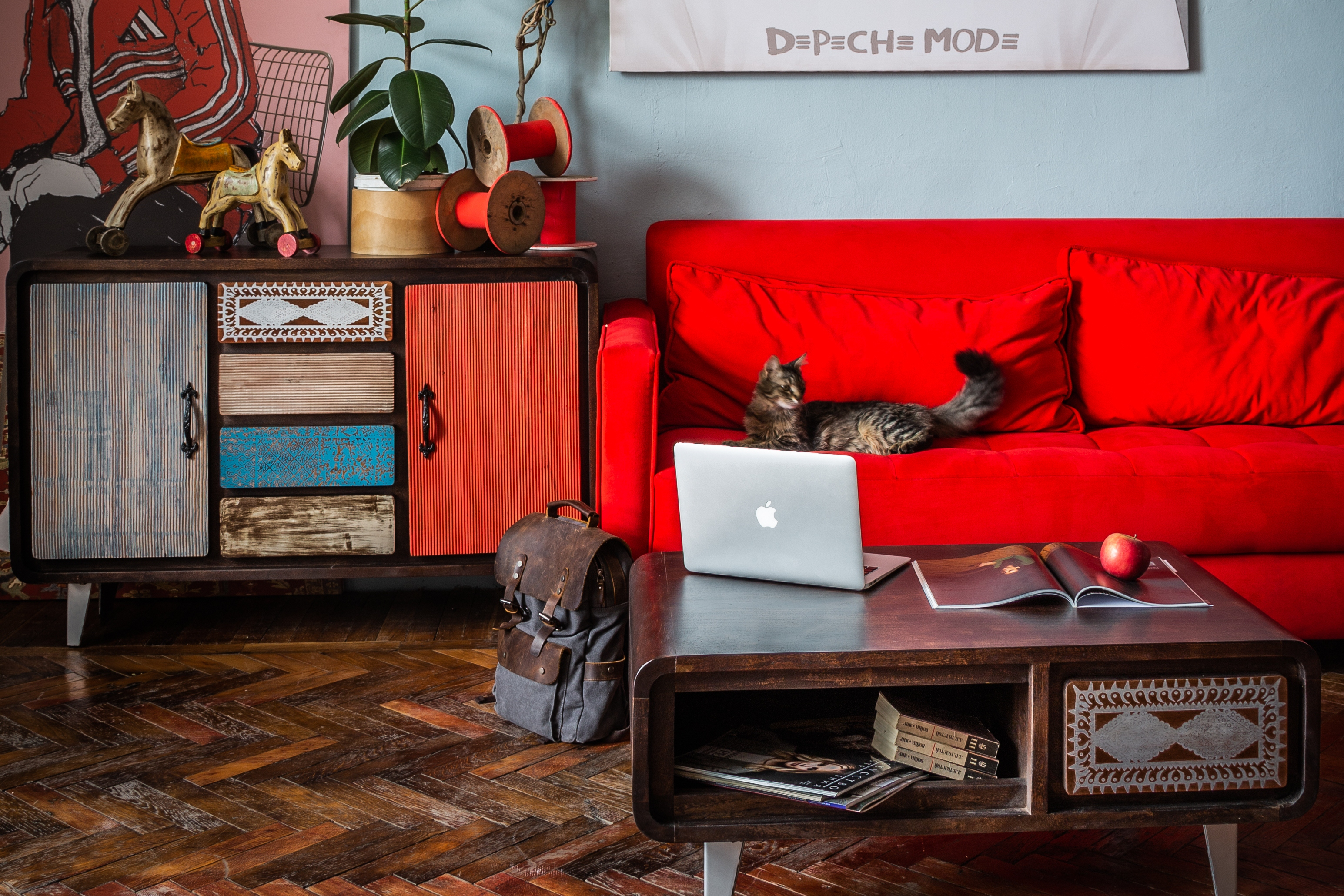 мебель ретро 60-е